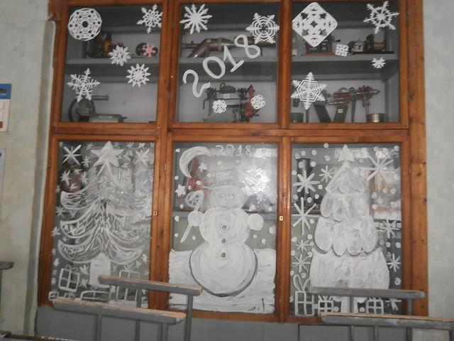 Оформлення ліцею до нового року