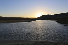 Sunrising on the Carmel River Lagoon