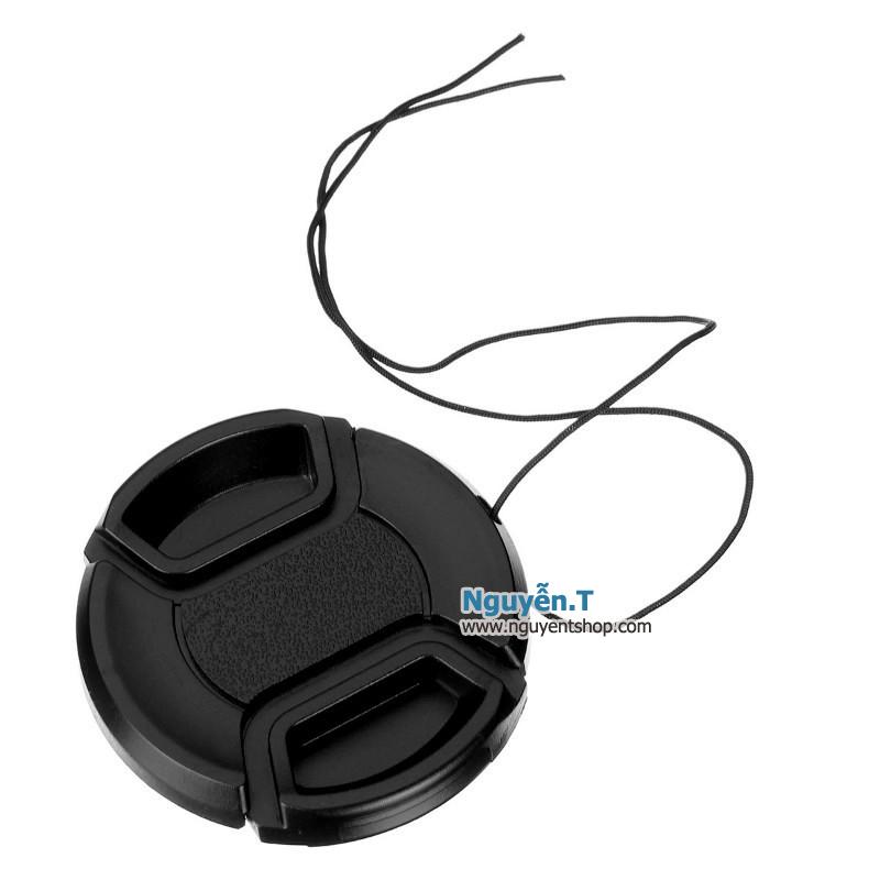 Lens cap nắp đậy bảo vệ ống kính máy ảnh phi 62mm