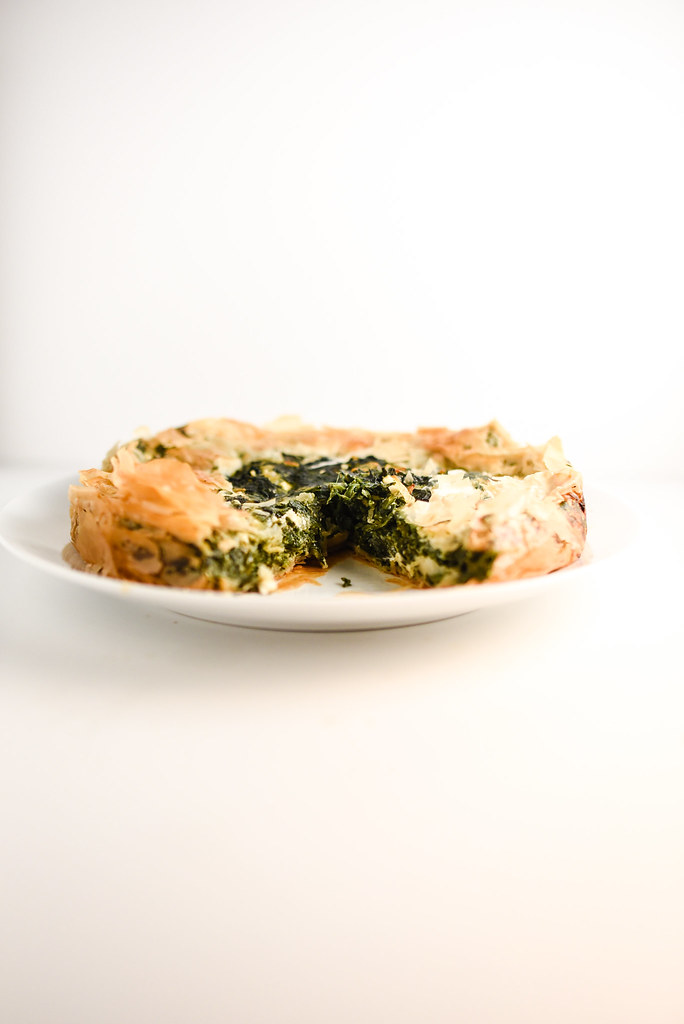 Spanakopita Pie | Things I Made Today