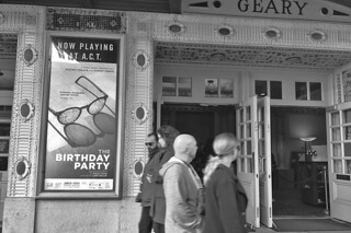 Happy Birthday - American Conservatory Theatre bw