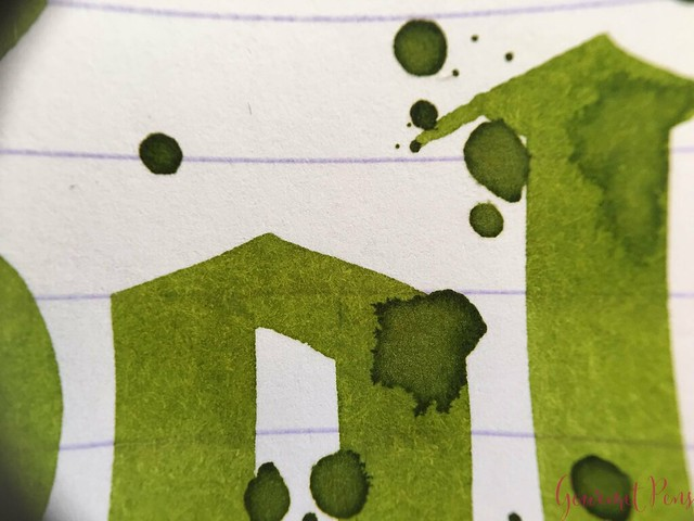 Ink Shot Review KWZI Green Gold #2 @AppelboomLaren 7