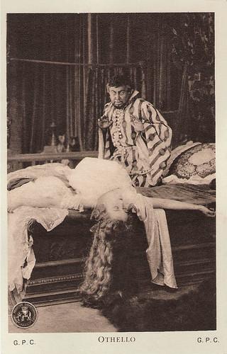 Emil Jannings and Ica von Lenkeffy in Othello (1922)