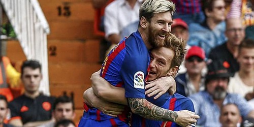 Rakitic: Messi adalah yang terbaik sepanjang sejarah