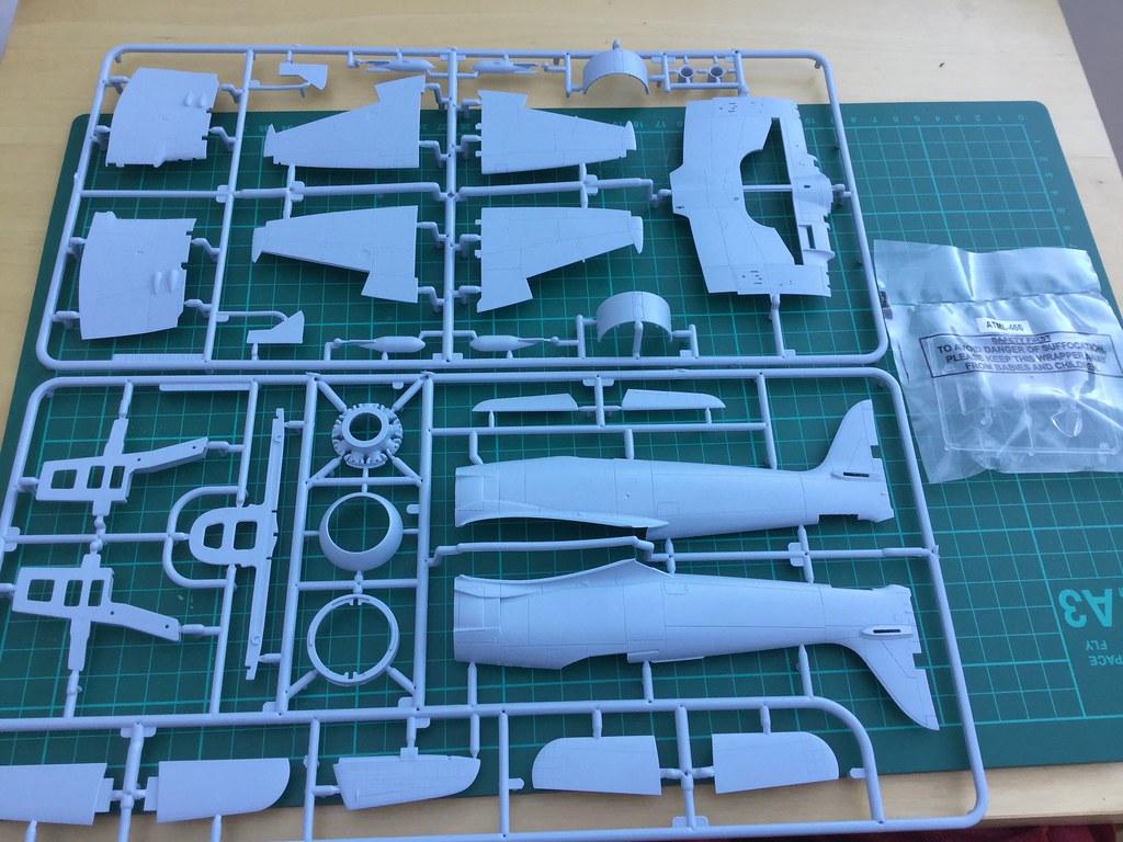 Airfix Sea Fury of the RCN