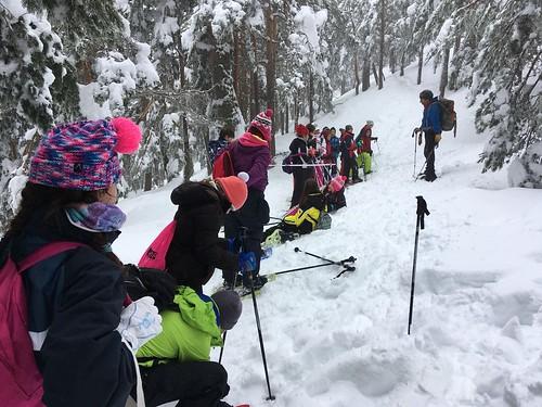 Excursión a la nieve 5º de primaria 2018
