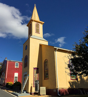 Mount Zion Baptist Church -- 33 South 3rd Street Warrenton (VA) October 2017