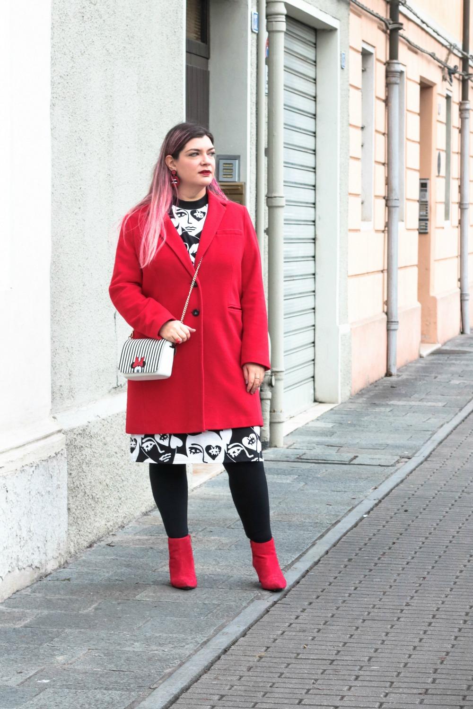 Outfit plus size monki, bianco rosso e nero (6)