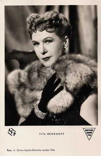 Fita Benkhoff in Von Liebe reden wir später (1953)