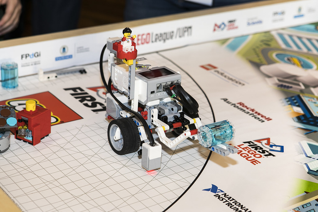 FIRST LEGO LEAGUE 2018,  en la UPM