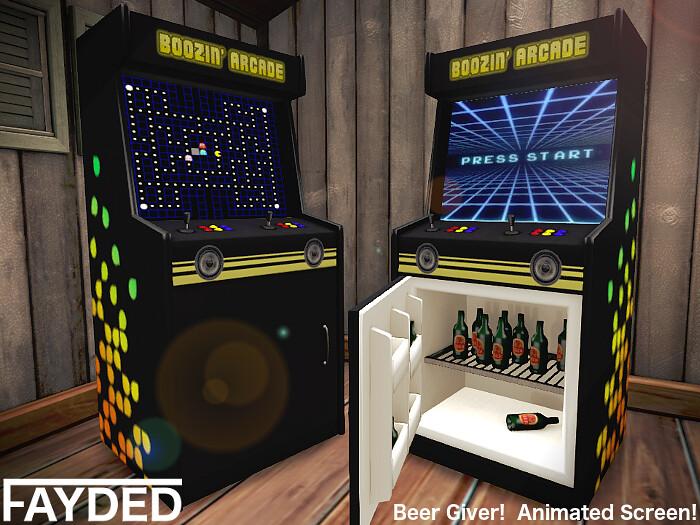 FAYDED - Boozin' Arcade - TeleportHub.com Live!