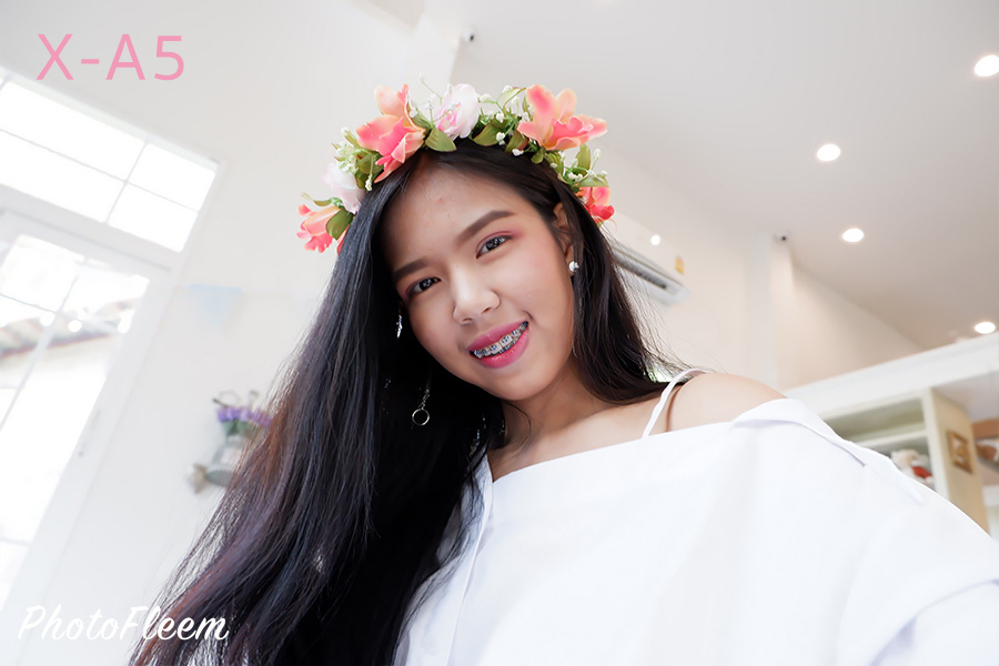 Fujifilm X-A5 X-A3 Selfie