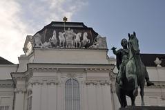 Wien, Josefsplatz vor der Österreichische Nationalbibliothek (1726)