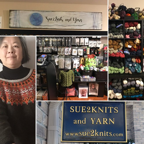 Day 1: Who We Are,  Sue2Knits and Yarn is the place to buy all things yarny in the Windsor-Essex, Ontario area.