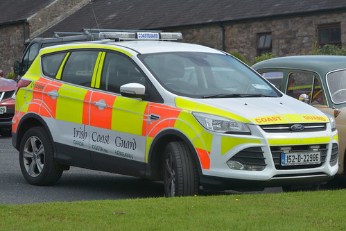 Irish Coast Guard 2015 Ford Kuga Sidhean Teo IRV 152D22986