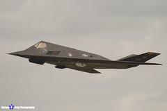 84-0825 - A.4039 - US Air Force - Lockheed F-117A Nighthawk - RIAT 2007 Fairford - 070714 - Steven Gray - IMG_6069