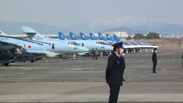 U-125とブルーインパルスが並ぶ風景 IMG_0709