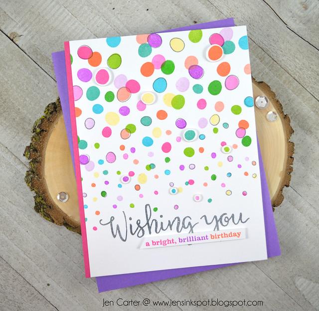 Jen Carter Winnie Walter Winter Wishes Wishing You Dots