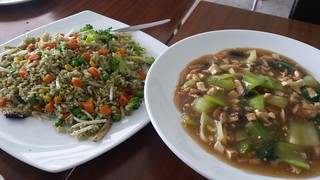 Spring Fried Rice and Kway Teow at September 18