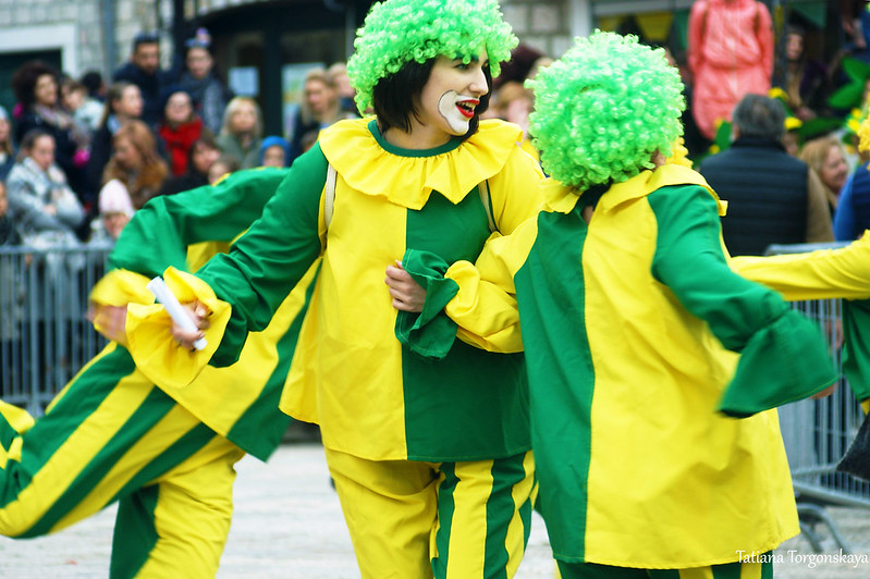 Клоуны на празднике