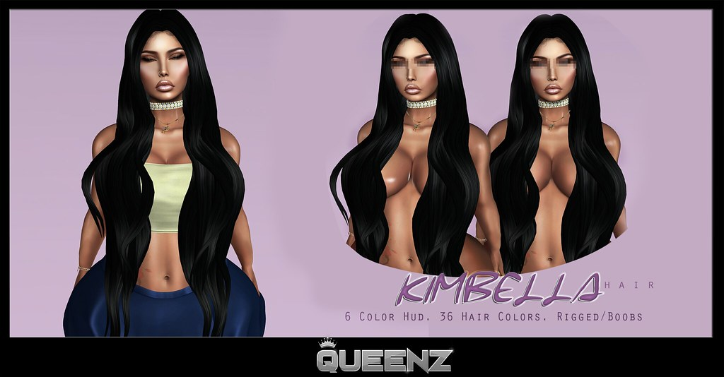 QUEENZ | Kimbella Hair - TeleportHub.com Live!