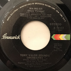 TONY VALOR SOUNDS ORCHESTRA:MA-MO-AH(LABEL SIDE-B)