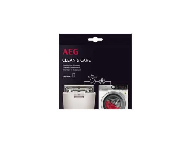 Aeg Clean & Care decalcificante lavatrice 12 bustine - 0