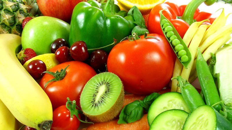 Sayuran dan buah baik untuk mengatasi radang dan mengurangi lemak pada perut.