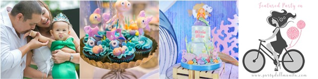 olivia under the sea theme party