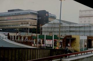 One for the archives. Skelhorne Street, Liverpool. 7 June 1992.