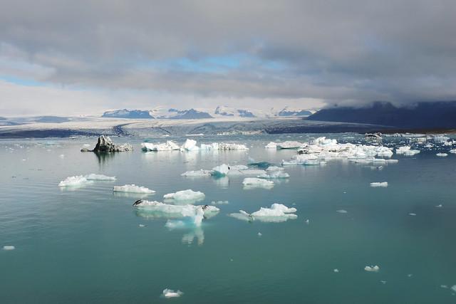 Jökulsárlón Glacier Lagoon, Southern Iceland