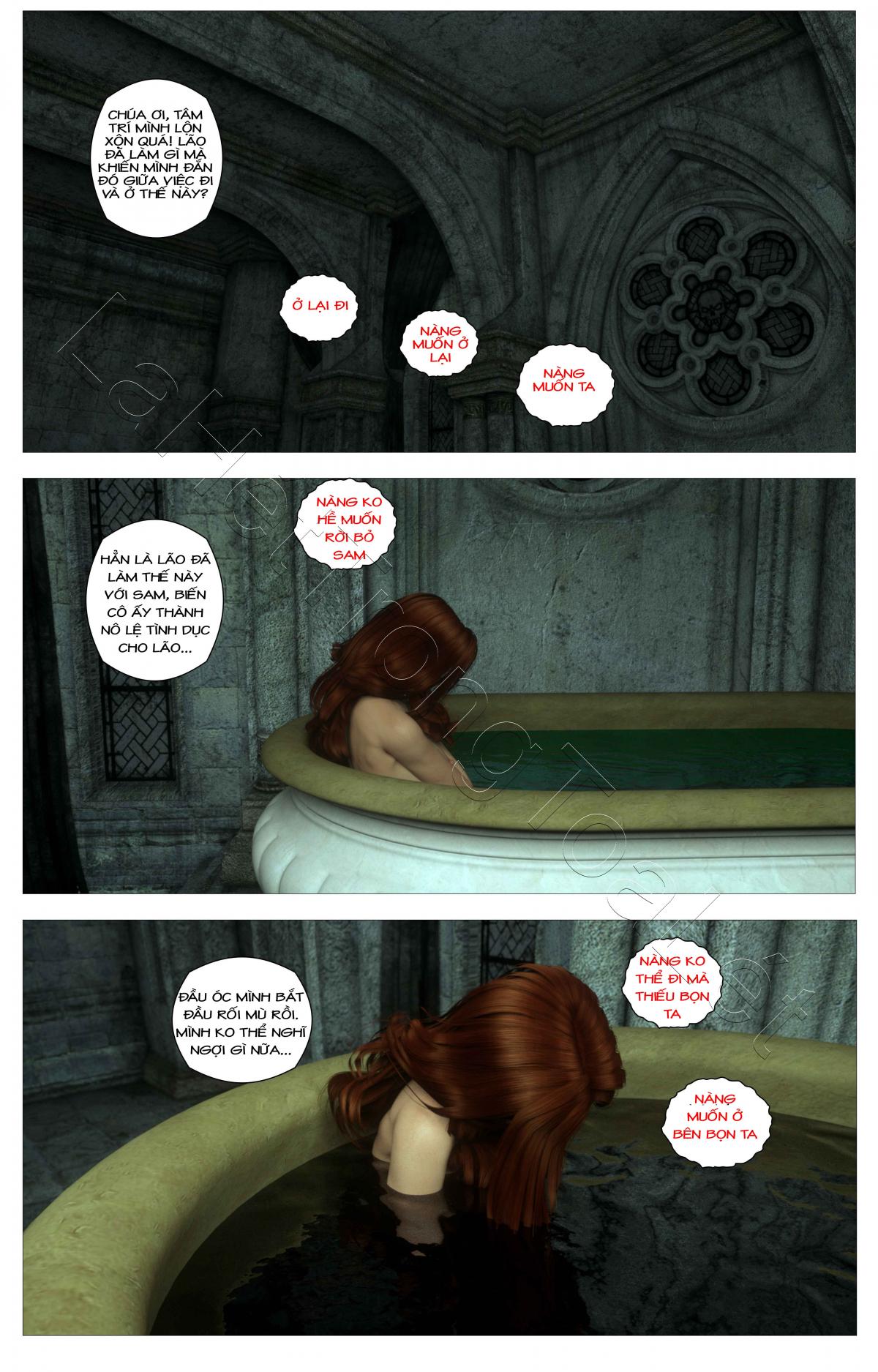 HentaiVN.net - Ảnh 6 - Tòa lâu đài bí ẩn: lời nguyền của Caritagua - Crypt Raider: Curse of Caritagua, Crypt Raider - Tập 5
