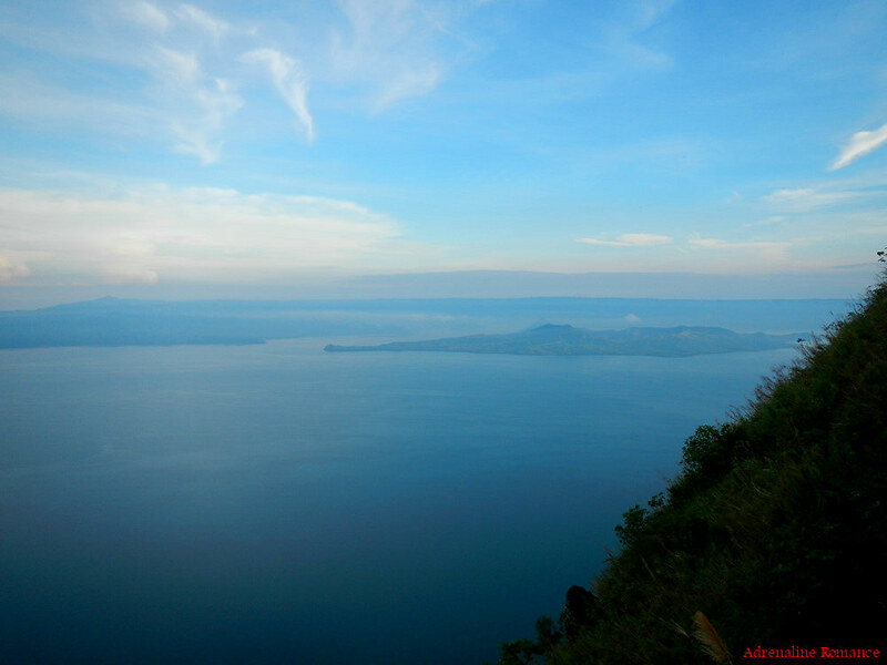 Taal Lake from the Rockies