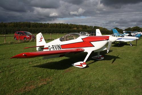 G-RVIN Van's RV-6 [PFA 181-13236] Popham 081017
