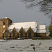 St Peter's in the Snow