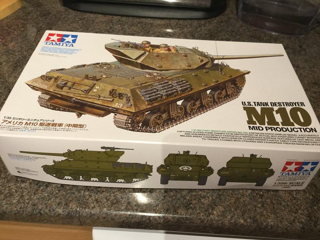 Tamiya M10 Tank Destroyer