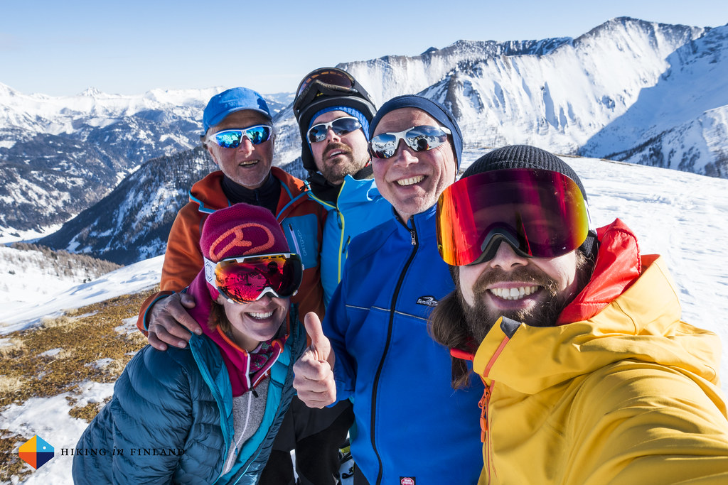 Happy Seeköpfl Summit Selfie.
