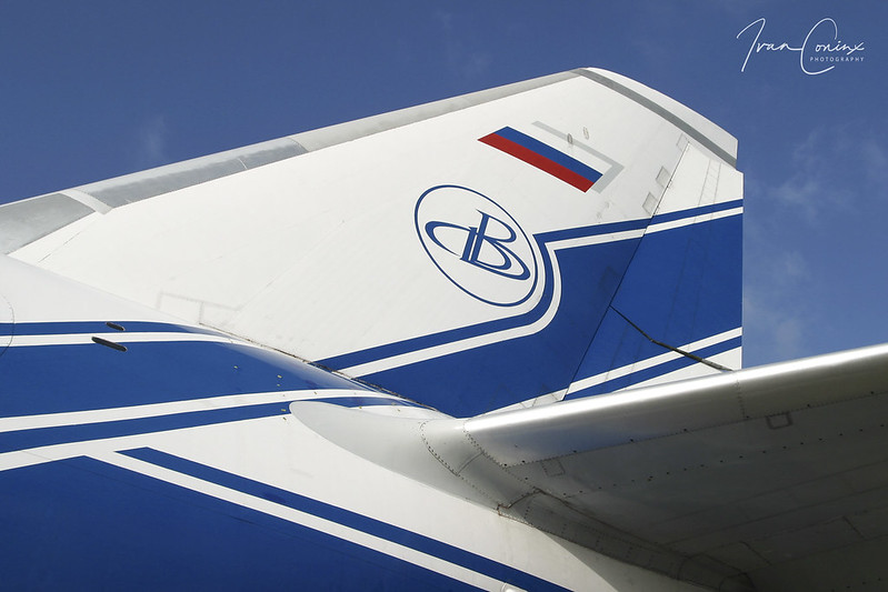 Antonov An-124-100 Ruslan – Volga-Dnepr Airlines – RA-82078 – Brussels Airport (BRU EBBR) – 2004 02 01 – Parked – 03 – Copyright © 2004 Ivan Coninx
