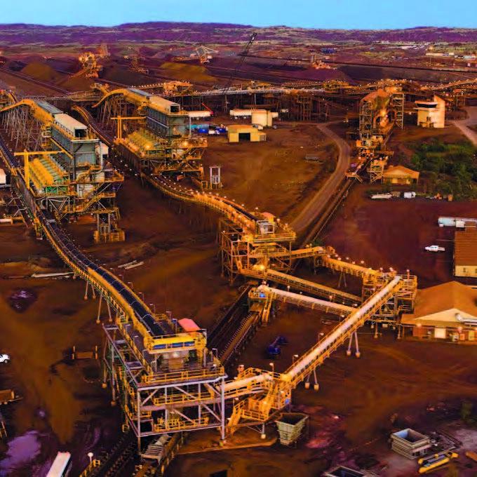 Портовая станция опробования железной руды Rio Tinto