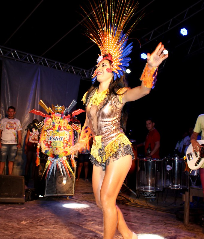 Juruti elege a Musa Tribal Folia de 2018: Lizsane Araújo, LIZSANE ARAÚJO