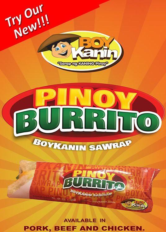 pinoy burrito