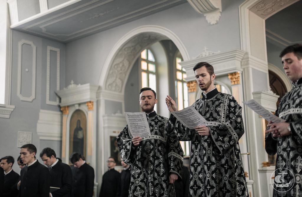 21 февраля 2018, Среда Первой седмицы Великого поста / 21 February 2018, Wednesday of the 1st Week of Great Lent