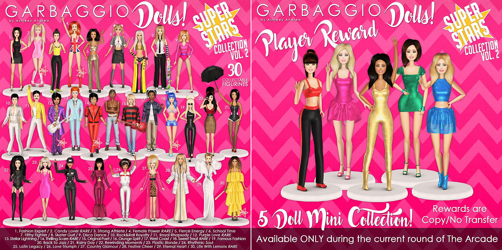 Garbaggio Dolls Superstars Vol.2 Gacha Key & Reward - TeleportHub.com Live!