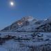'Moonlight Rescue' - Llyn Ogwen, Snowdonia by Kristofer Williams