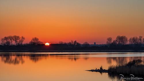 Sunset Zuiderdiep Stellendam