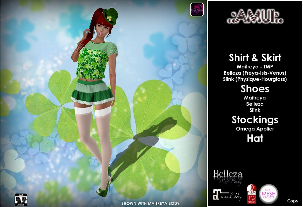 .:AMUI:. ST PATRICK'S DAY OUTFIT - TeleportHub.com Live!