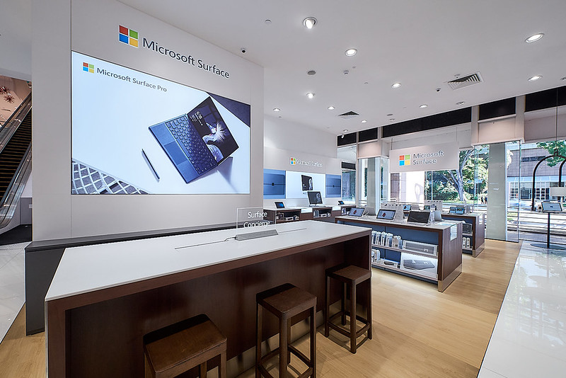 Microsoft Surface Store Singapore - 3