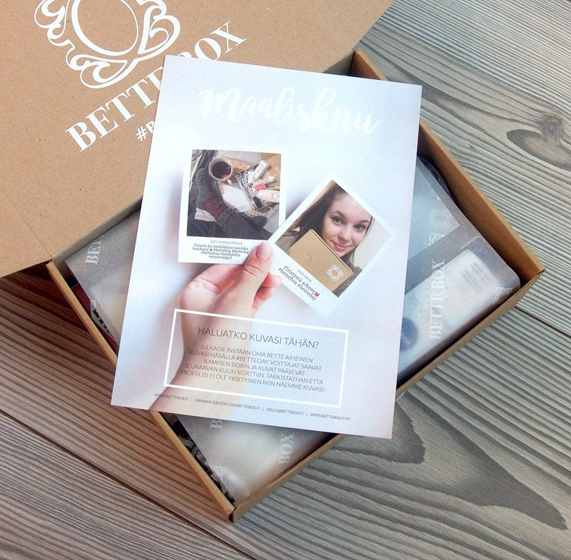 Maaliskuun Bette Box
