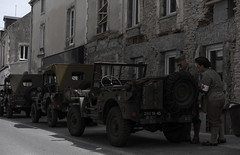 Jeeps in WWII - Photo of Vouilly
