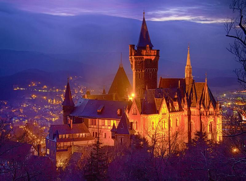 Wernigerode Castle. Credit Voyage48